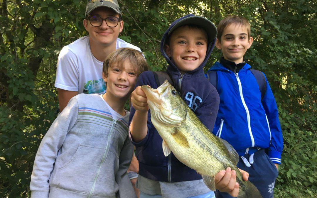 Camps pêche vacances SENSITIV' PÊCHE – Des vacances 100% pêche dans le lot – Corrèze