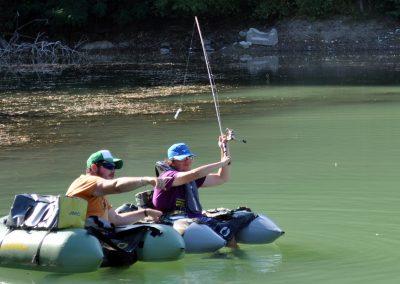 sensitiv peche - carnassiers - float tube - maxime lagarrigue - black-bass - sandre